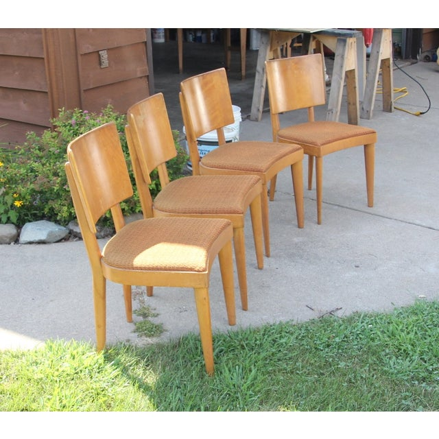 Heywood Wakefield Dining Chairs - Set of 4 - Image 4 of 4