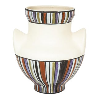 Large Roger Capron Oreilles Vase For Sale