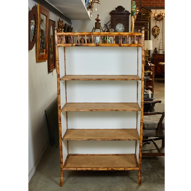 Jw Custom Line Bamboo Bookcase For Sale - Image 4 of 8