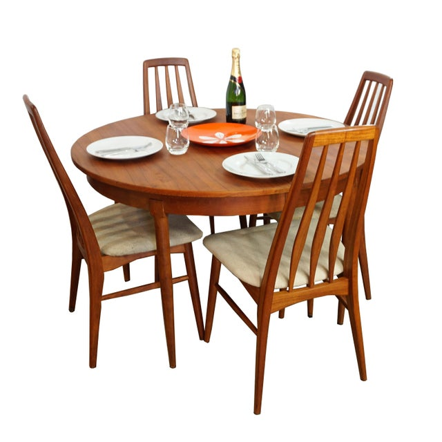 Rosengaarden Teak Dining Table with Leaf - Image 6 of 7