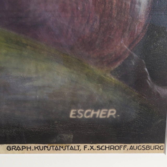 Early 20th Century Litho Magic Poster by Escher - Image 5 of 5