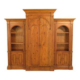 Habersham Large 3 Piece Pine Wall Entertainment Unit