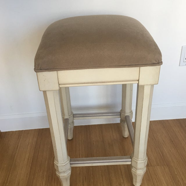 Tan Backless Counter Stools - Set of 3 - Image 5 of 5