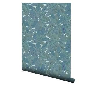 Croton Sea Foam Pre-Pasted Wallpaper