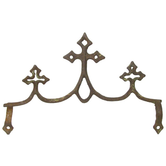 French Fleur de Lys Iron Elements - Set of 3 - Image 2 of 4