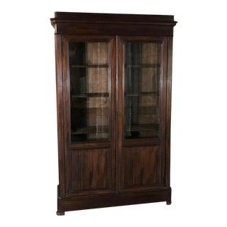 19th Century French Louis Philippe Mahogany Bookcase, Circa 1840