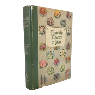"""Favorite Flowers in Color"" 1949 Garden Book For Sale"