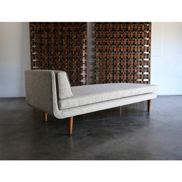 Gray 1960 Edward Wormley for Dunbar Daybed For Sale - Image 8 of 13