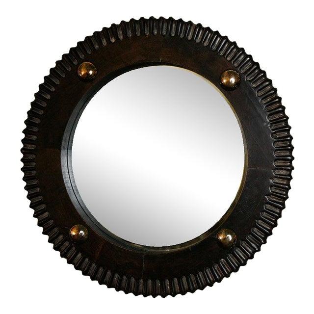 Paul Marra Gear Style Mirror - Image 1 of 8