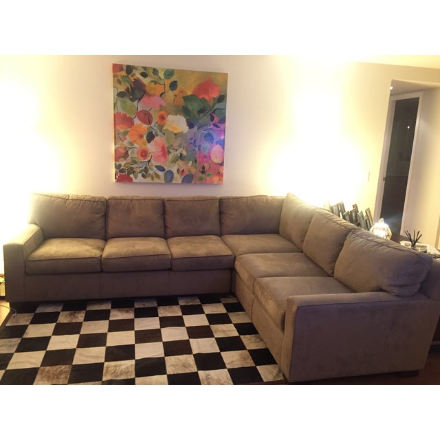 Mitchell Gold + Bob Williams Sectional Sofa For Sale - Image 9 of 10