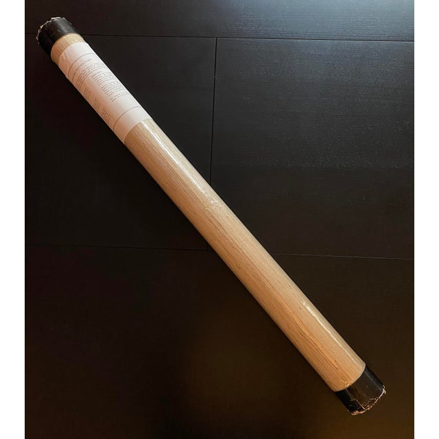 A great warm rich neutral texture. 36 inches wide and 24 feet in length - equivalent to three standard American rolls.