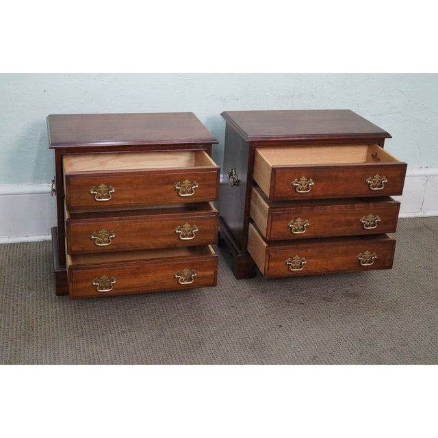 Pennsylvania House Cherry Chippendale Chests - Image 6 of 10