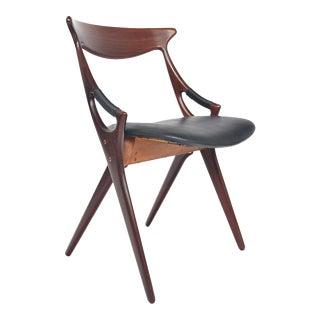 Arne Hovmand Olsen Model 71 Teak Chair For Sale