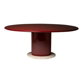 Italian 70s Lacquered Table For Sale