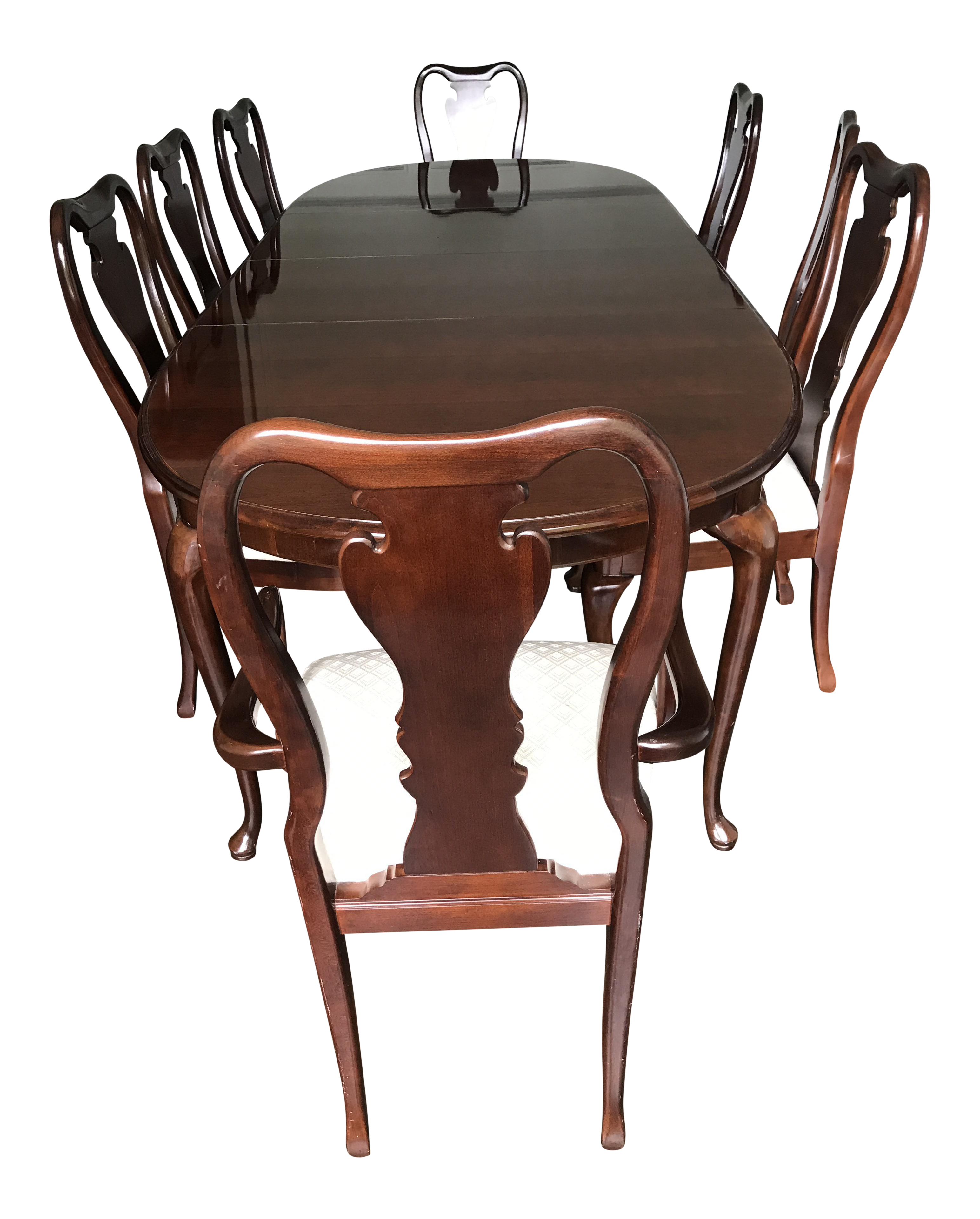 Thomasville Collector\u0027s Cherry Dining Set For Sale | Chairish