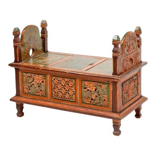 Small Indian Dowery Chest For Sale