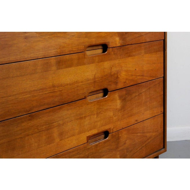 1950s Mid-Century Modern John Keal for Brown Saltman Low Dresser or Credenza For Sale In Los Angeles - Image 6 of 7