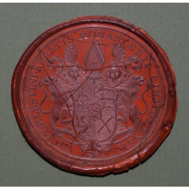 Red Fine Collection of 19th Century Wax Seals For Sale - Image 8 of 12