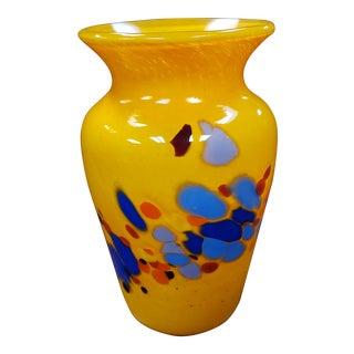 1999 Lost Angel Art Glass Vase by Joel O'Dorisio For Sale