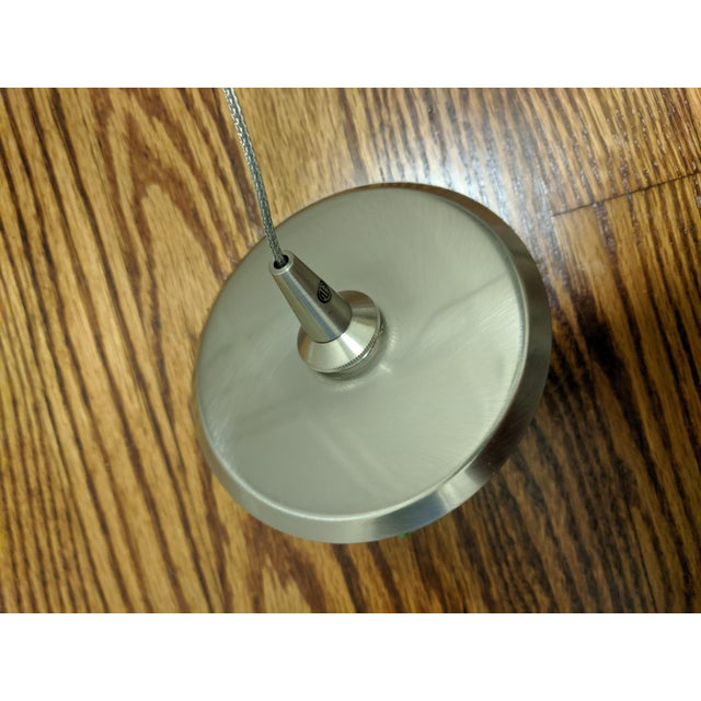 Hand Blown Glass by Siemon & Salazar Clear Happy Pendant Lights For Sale - Image 4 of 6