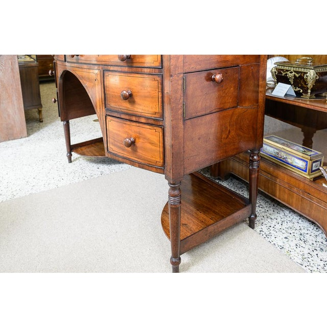English Traditional Pleas Update Price Regency sideboard For Sale - Image 3 of 8