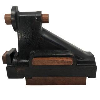 Industrial Vintage Wooden Mold For Sale