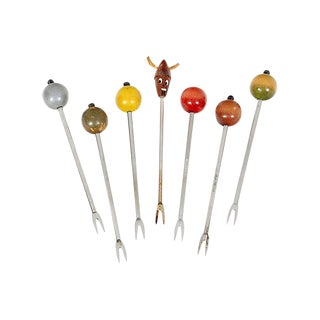 Italian Hors d'Oeuvre Picks, Set of 7