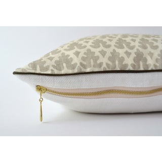 Quadrille Volpi Gray Pillow Preview