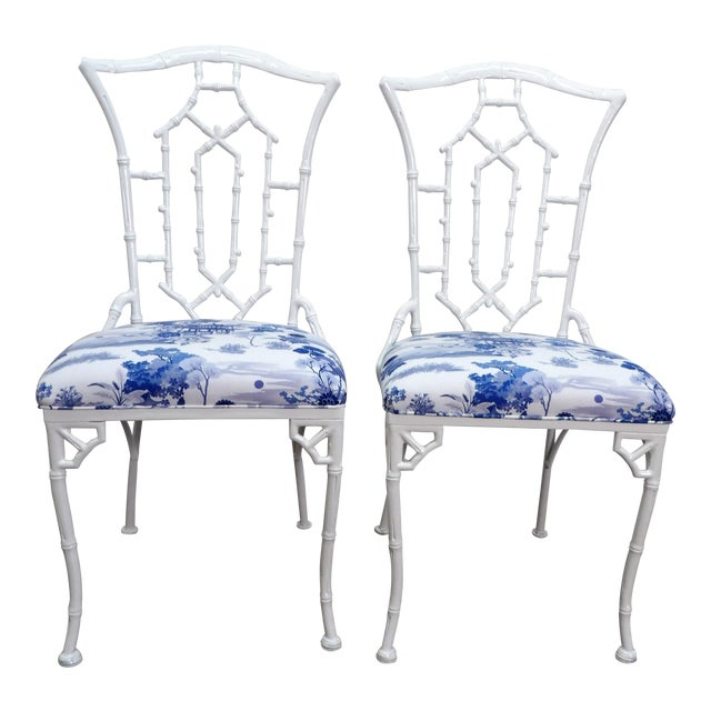 Vintage Chippendale Side Chairs- a Pair For Sale