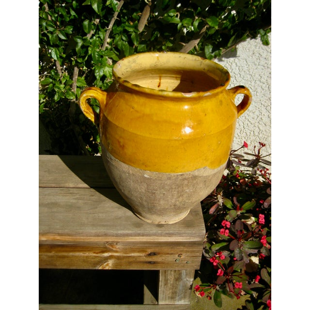 A must classic for decades in the french country style , the grease pot , or also called yellow pot is just a wonderful...