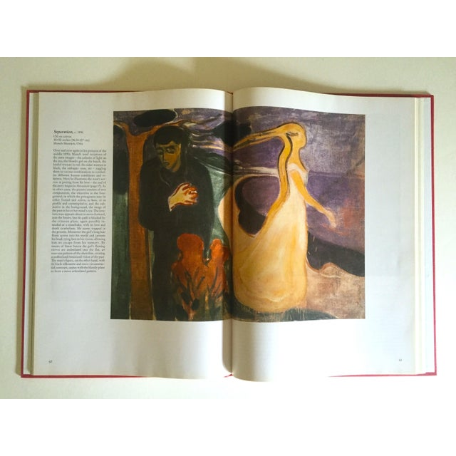 """"""" Munch """" First Edition Vintage 1990 Expressionist Hardcover Art Book For Sale - Image 12 of 13"""