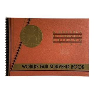 1934 World's Fair Souvenir Book Chicago For Sale