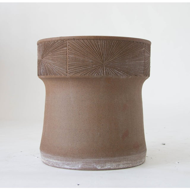 Robert Maxwell and David Cressey Earthgender Medium Flared Planter - Image 6 of 6