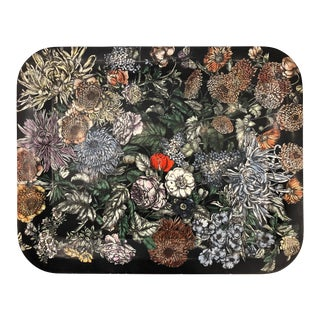 """Fiori"" Tray by Piero Fornasetti, Italy, 1950's For Sale"