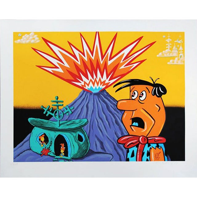 """Kenny Scharf """"Flintstones"""" For Sale"""