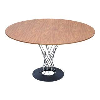 Vintage Mid Century Modern Chrome Cyclone Dining Table Isamu Noguchi Knoll