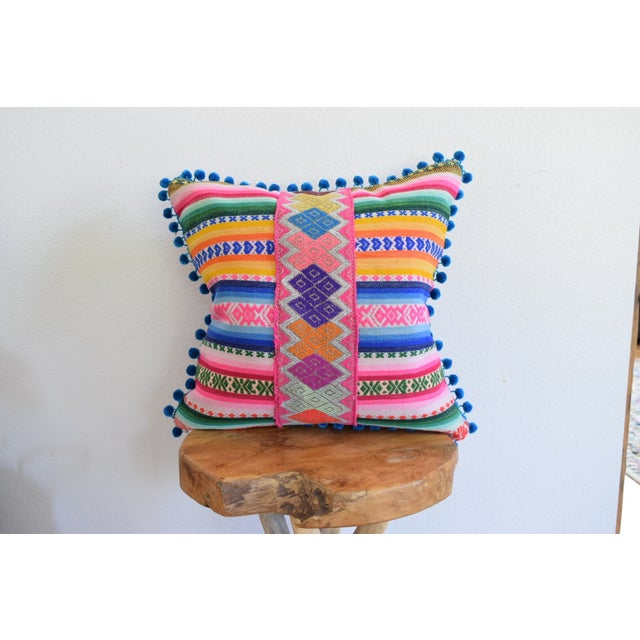 Peruvian Manta Lux Pillow - Image 2 of 5