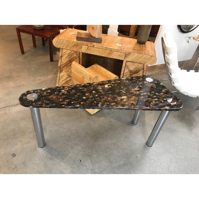 Tessellated Horn Console Table For Sale - Image 10 of 10