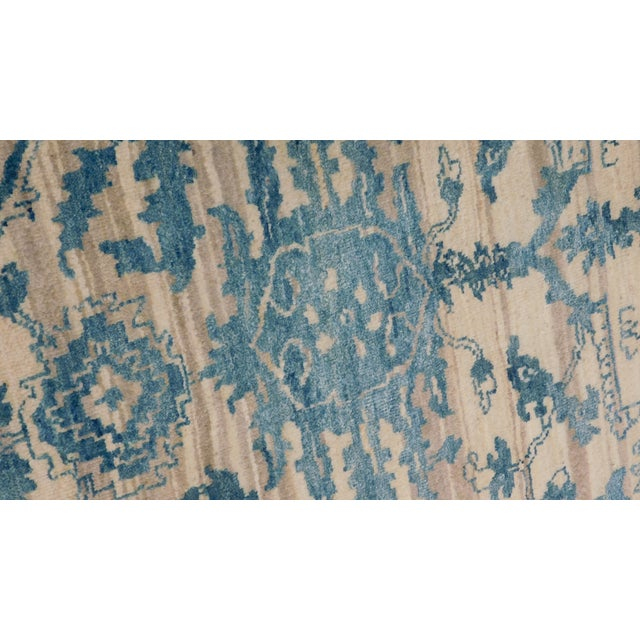"Erased Hand-Knotted Luxury Rug - 7'10"" X 10'2"" - Image 3 of 10"