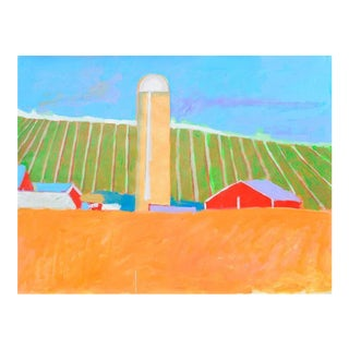 Country Fields by Michael William Eggleston For Sale