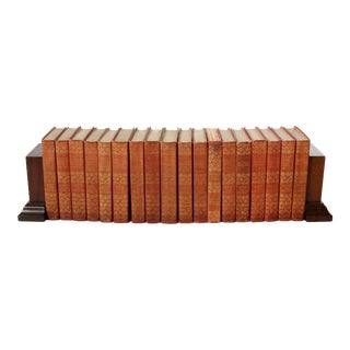 Library Room Set 18 Books by Charles Scribner's For Sale
