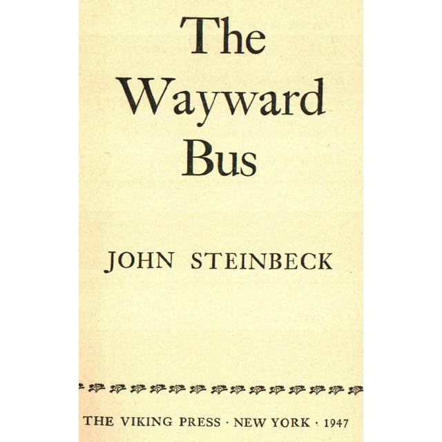 The Wayward Bus by Steinbeck - Image 2 of 3