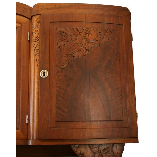 Brown 1920 French Art Deco Buffet For Sale - Image 8 of 8