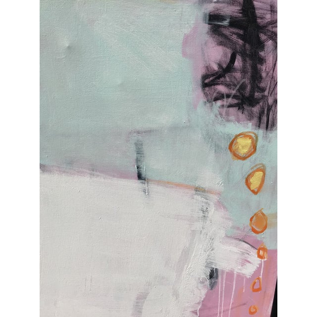 """Abstract """"Razzle Dazzle"""" Sarah Trundle Contemporary Abstract Painting For Sale - Image 3 of 5"""