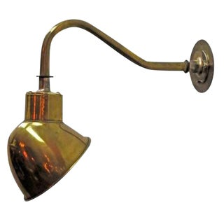 English Pub Wall Light For Sale