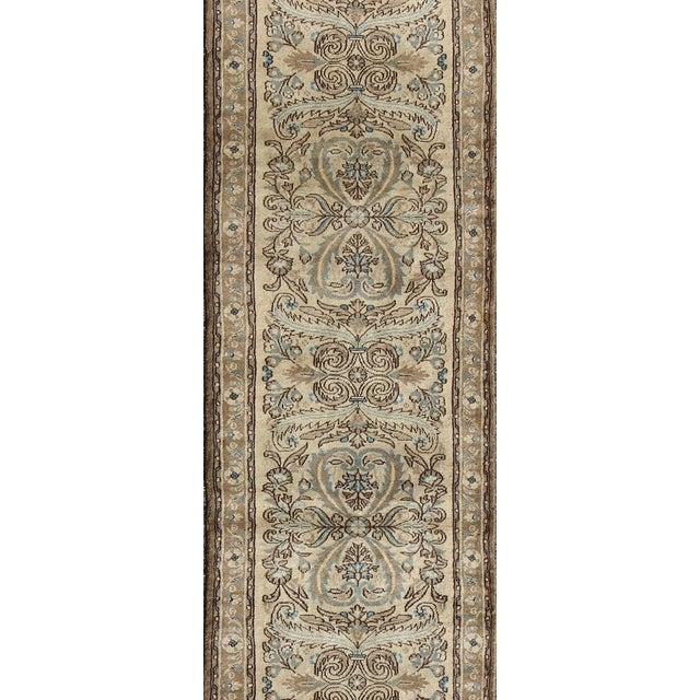 Islamic 1950s Semi Antique Lilihan Runner Rug - 2′9″ × 13′ For Sale - Image 3 of 8