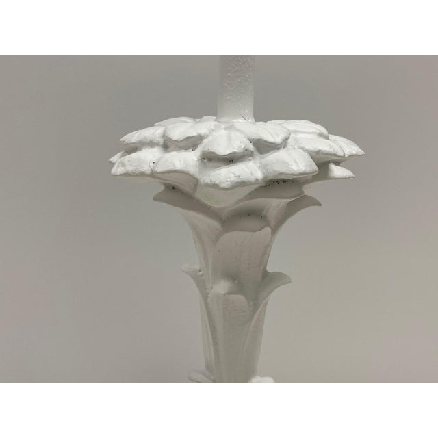 Serge Roche Style Palm Motife Table Lamps For Sale - Image 9 of 12