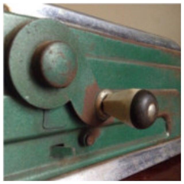 United Autographic Register Art Deco Cash Machine - Image 9 of 11