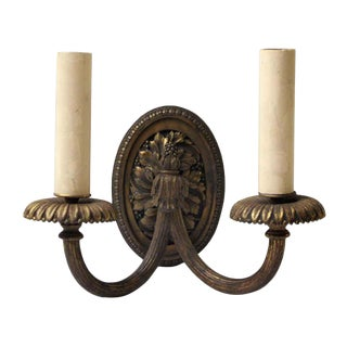 E. F Caldwell Antique Louis XV Sconce For Sale
