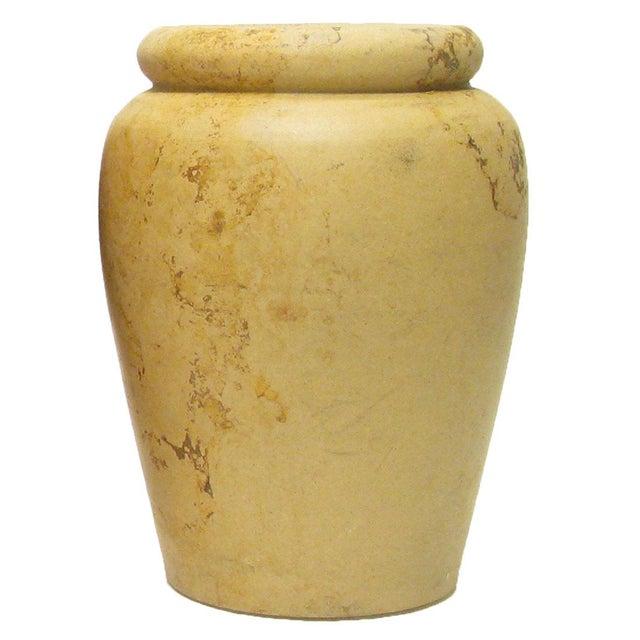 Belgian Antique English Unglazed Pottery Jars C.1880, S/3 For Sale - Image 3 of 5